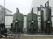 5-8T/H流量型软化水设备