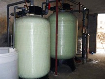 0.5T/H流量型软化水设备