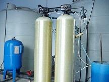 1T/H时间型软化水设备