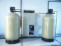 2T/H时间型软化水设备