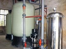 3T/H时间型软化水设备