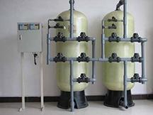 3T/H流量型软化水设备